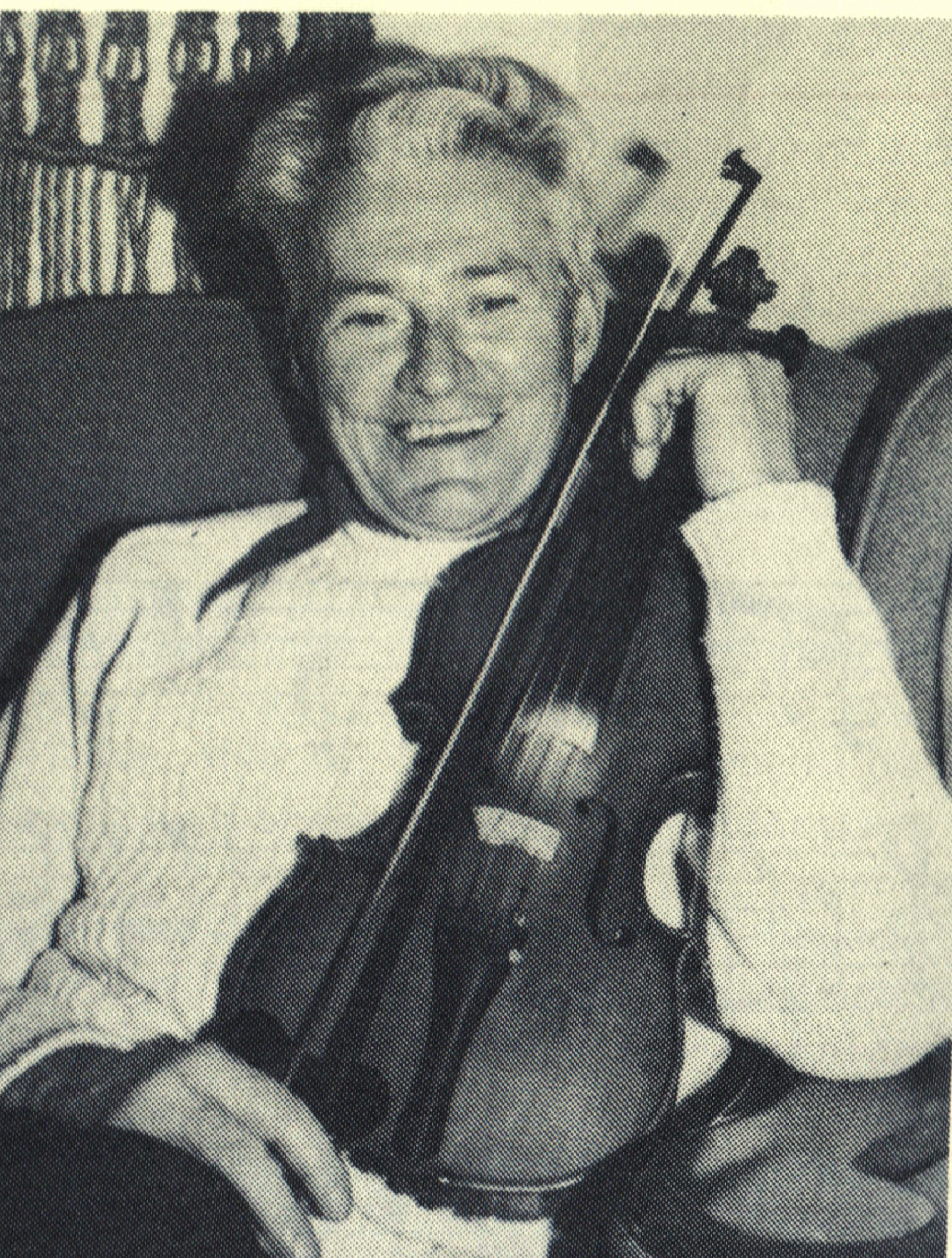 The Cape Breton Fiddler by Allister MacGillivray